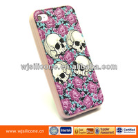 Silicone Factory Make Soft Case Customized Printing for IPhone 5/5S