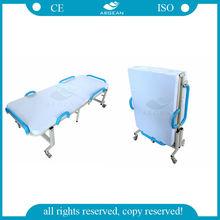 AG-FB001 high quality Backrest adjustable hospital folding cot