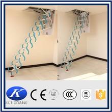 Retractable metal telescopic loft ladder folding, folding attic stairs