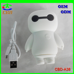 Cheap Baymax power bank 5200mah mobile battery charger for call phone
