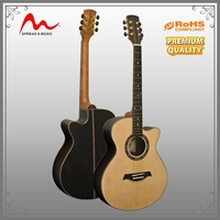 Wholesale Cheap round back acoustic guitar for wholesales