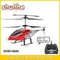 de alta calidad de metal 3ch rc helicóptero de radio control helicóptero juguetes
