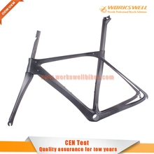 Workswell new oem T800 carbon 700C road bicycle frame fork seatpost