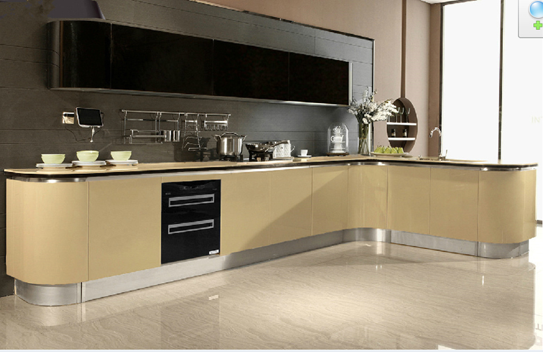 Combinations pvc Kitchen Cabinet  Buy Kitchen Cabinets Design,Peach