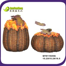 party celebration polyresin thanksgiving pumpkin