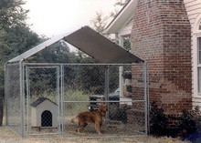 Heavy Duty Outdoor Kennel Large Small Dog Puppy Puppies House Pen Shelter