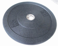 Black Crumb barbell plate
