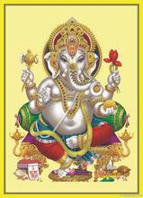 24k 3d Gold foil India God picture/Gold foil religious supplier