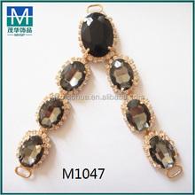 2016 summer trend fashion crystal china slipper ornament M1047