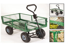 Steel beach wagon / garden cart