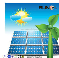 100 watt solar panel with class A mono cells