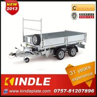 Professional electric brake plus hand brake camper trailer Manufacturer with 31 Years Experience