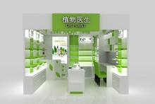 modern glass display cabinet, tempered glass showcase, mall kiosk