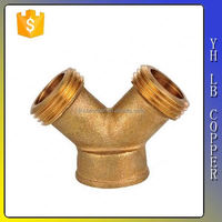 brass refrigerating fluid collector fitting