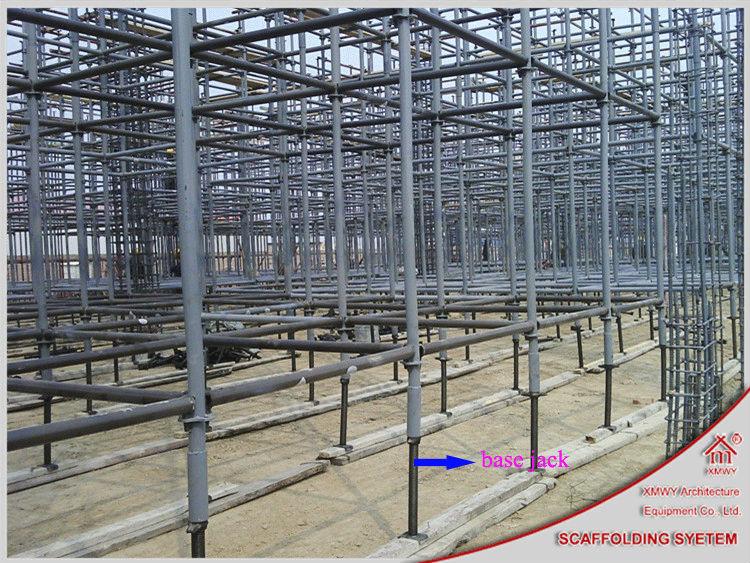 Adjustable U Head : Adjustable u head screw base jack used in concrete
