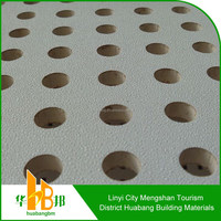 decorative building materials remov pvc gypsum ceil tile decorative edge tape perforated gypsum board