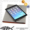 Wholesale PU leather note book case for ipad air with wallet bags for mobile phone