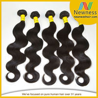 Top quality wholesale price brazilian human hair wet and wavy weave