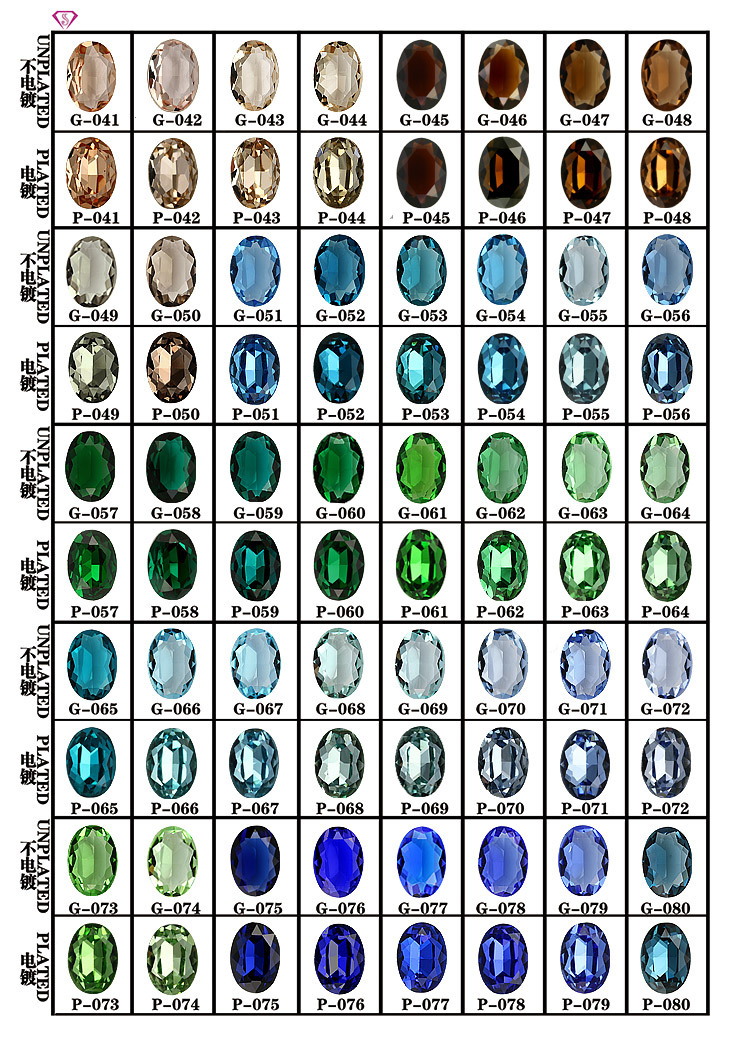 Aaa Fashion Loose Glass Gemstone Sapphire Green Jade Rough For Sale