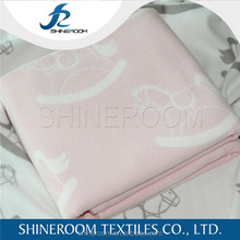 Hot Sales High End Baby Blankets Organic Cotton