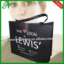 Online Shopping Woman Handbag Travel Bag for Clothing Elegant Design High Quality Non Woven Supermarket Bag