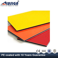Alusign interior aluminum plastic composite panel kitchen cabinets cover panels