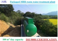 Package MBR sewage treatment plant