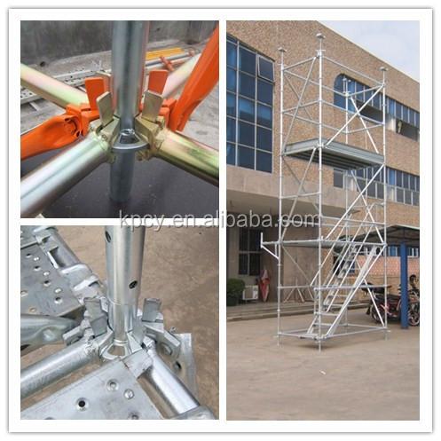 Patented Product Steel Ringlock Scaffolding Ledger Head