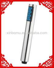 La columna cilindro abs cabeza de ducha de plástico xbm-1020c cabeza de la ducha