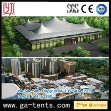 Water-Proof and Sun-Proof Steel Structure Tensiile Clear inflatable lawn tent