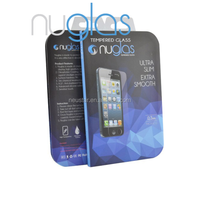 tempered glass screen protector for iphone 5g 5s 5c with beautiful package