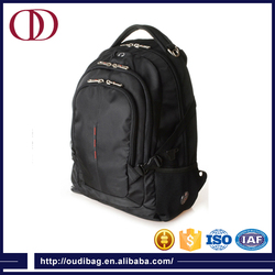 Black hot sale Laptop Backpack and travel bag materials