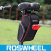 ROSWHEEL special folding bikes bicycle saddle bag with headlights 13890