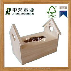 Trade assurance New product high quality unfinshed wooden jewellery case