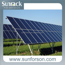 economical mounted ground solar bracket for solar panel home system