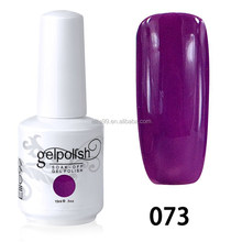 2015 factory price gel polish wholesale, 298 colors led gel polish,hot sale gel nail polish china 073