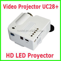Cheap price UC28+ Proyector Mini Video Projector LED portable mini projector