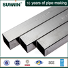 SUS 201 stainless steel tube with satin finish