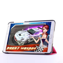 Tri-Foldable Flip Smart Tablet PC Cover Case for Samsung Tab S T700 8.4 Inch