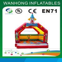 New design clown inflatable bouncer cheap bounce house rentals
