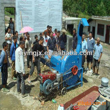 Tractor mounted cow farm fodder chaff cutter , silage cutter , silage chopping machine / feed grass chopper machine