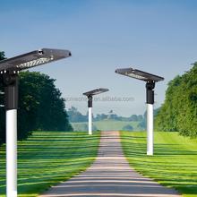 7W Motion Sensor Led Solar Street Light For Garden,Park,Basketball Court Use