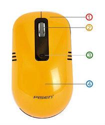 Pisen 2.4G Wireless mini Mouse M103