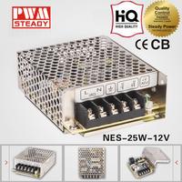 nes electronics nes-25-12 25w 12v led power supply with ce