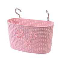 fashion plastic double hooks hanging baskets