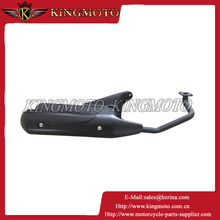 Carbon fiber CNC Dirt Bike Coloured tip motorcycle exhaust muffler for motorcycle