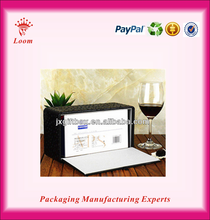 Fashion plastic/fabric/leather tissue box