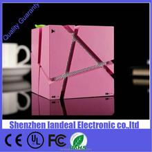 Stereo Wireless Bluetooth Speaker Audio HiFi music player box Speakers LED lighting lights lamp Magic Cube Design