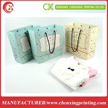new hot sale fashion printing t-shirt shopping bag
