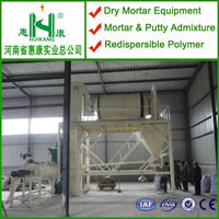 Water-proofing mortar production line,bentonite mixing adhesive machine plant,dedry powder mixer production line
